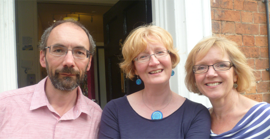 Peter, Sally and Corinne